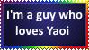 I'm a guy who loves Yaoi by KittyJewelpet78