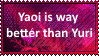 (Request) Yaoi is way better than Yuri by SoraRoyals77