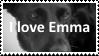 (Request) I love Emma Stamp by SoraRoyals77