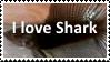 (Request)  I love Shark Stamp by SoraRoyals77