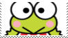 Keroppi Stamp by KittyJewelpet78
