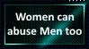Women can abuse men too by KittyJewelpet78