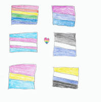 Pride Flags by KittyJewelpet78
