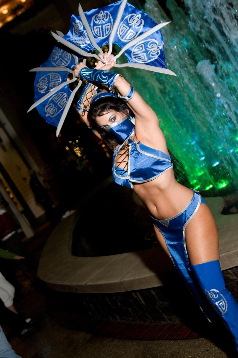 Princess Kitana, Mortal Kombat by EminenceRain