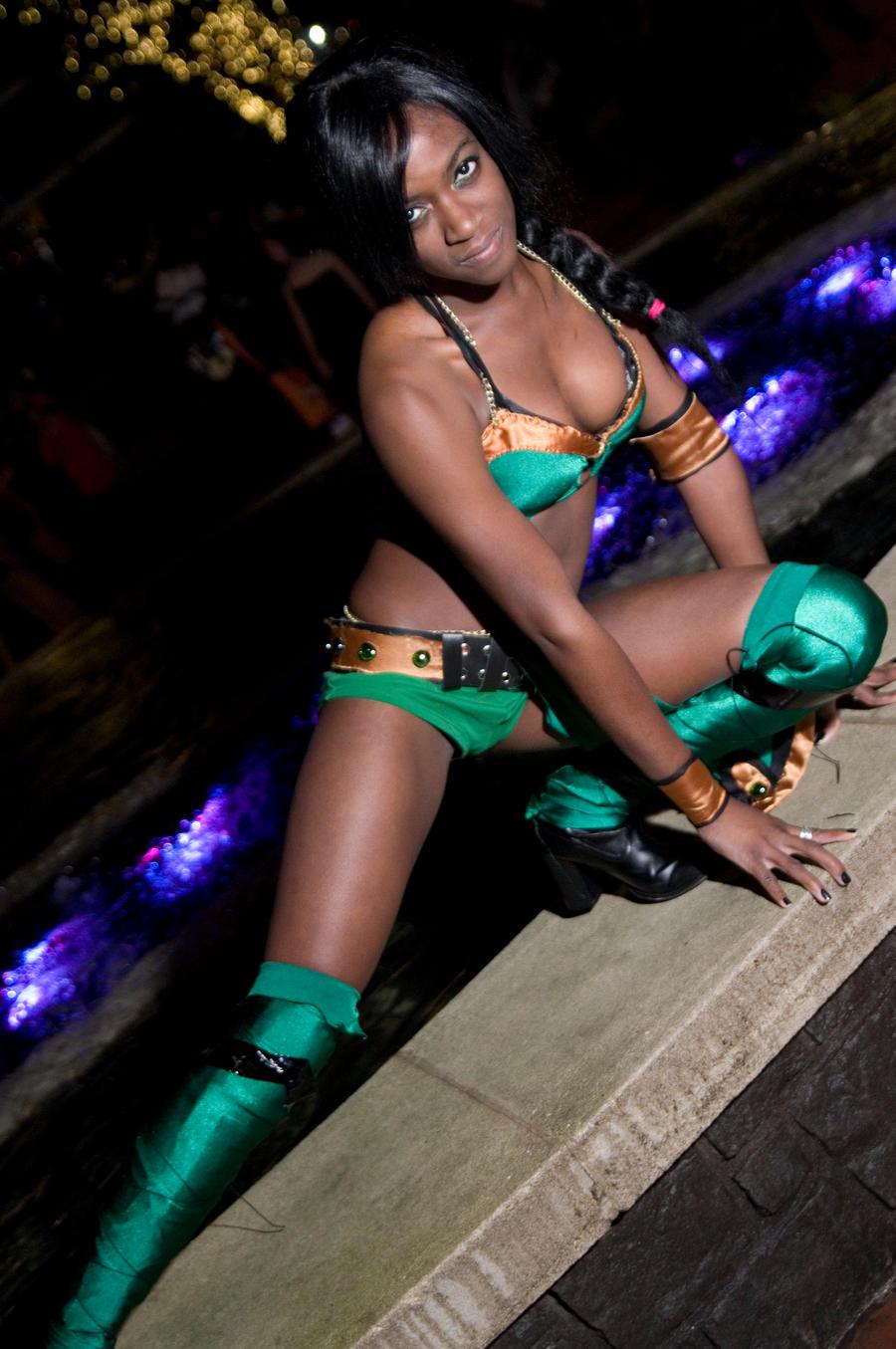Jade, Mortal Kombat by EminenceRain