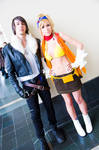 Squall and Rikku, Final Fantasy