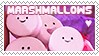 Love Marshmallows stamp 2 by SunsetCat