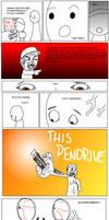 The Pendrive -Comic-