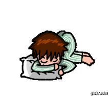 Sleeping... by xAm0n12x