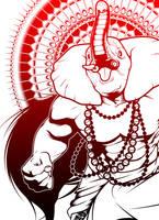 Ganesh by profeseurbee