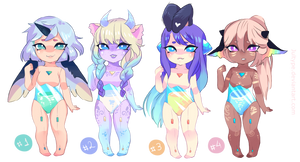 [CLOSED] Althea Closed Species adoptables by jultype