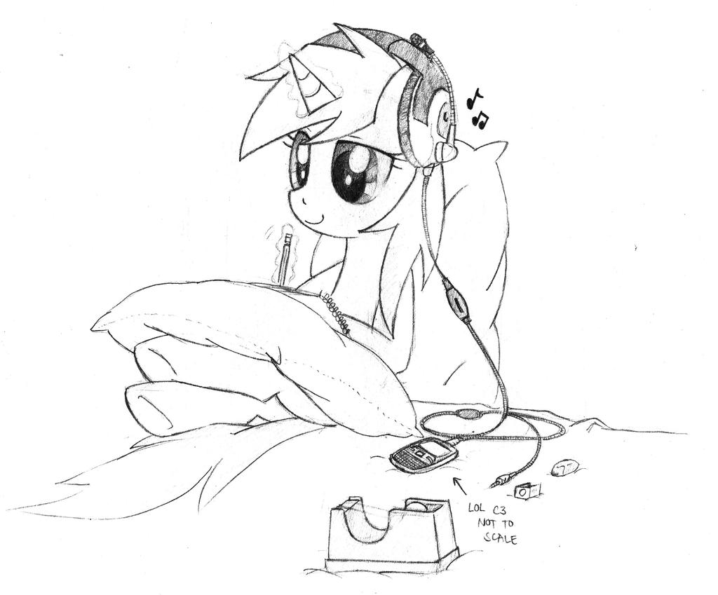 When I'm Drawing by awengrocks