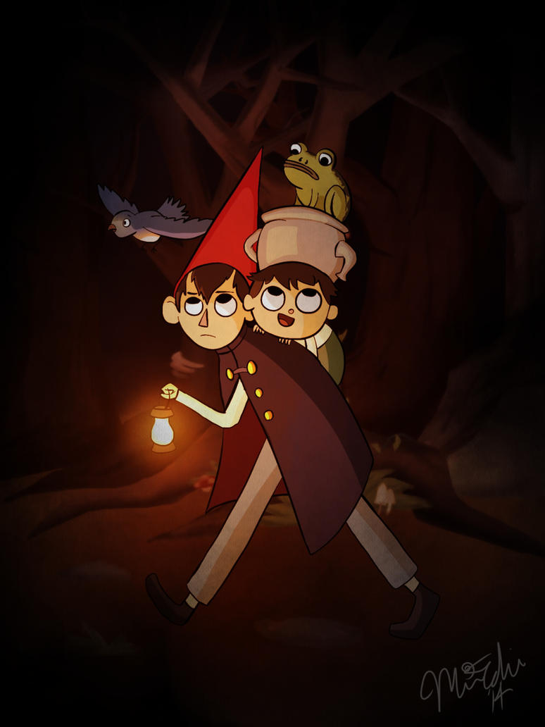 Over The Garden Wall By Moonshoespotter123 On Deviantart