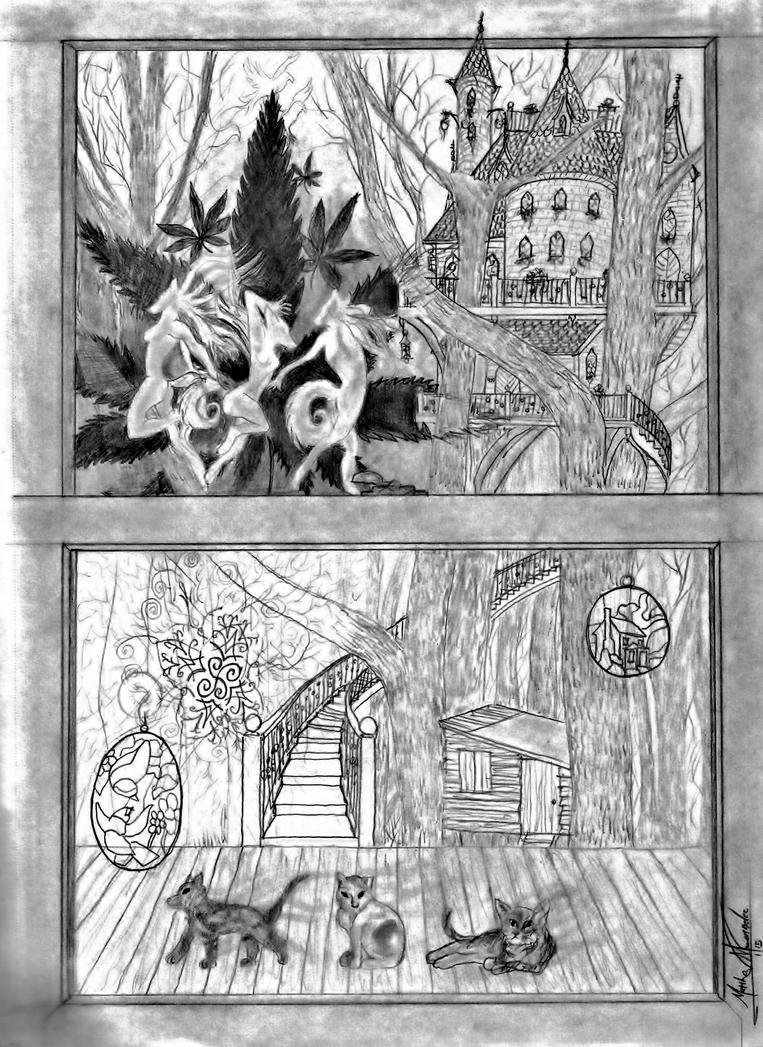 The Kitchen Window by Graywolf95