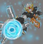 Gundam Uzumaki mk.I -colored