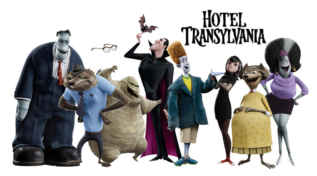 Pin hotel transylvania character posters and images for Character hotel