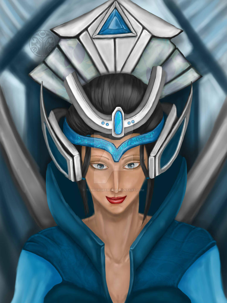 Blue Queen by terrorgreg05