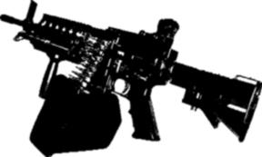 Shrike Light Machine Gun :2: by CanadianRuskie