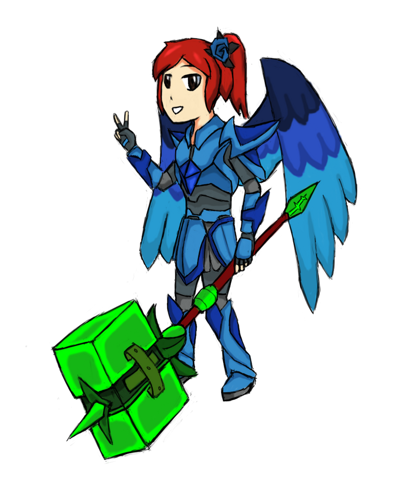 Anime Characters In Terraria : Helena a revamp by milt on deviantart