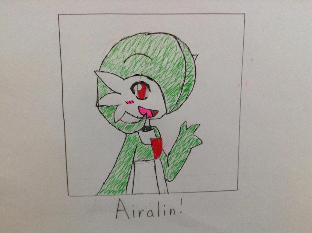 Airalin Fanart (RakkuGuy) by Gamerbroz47