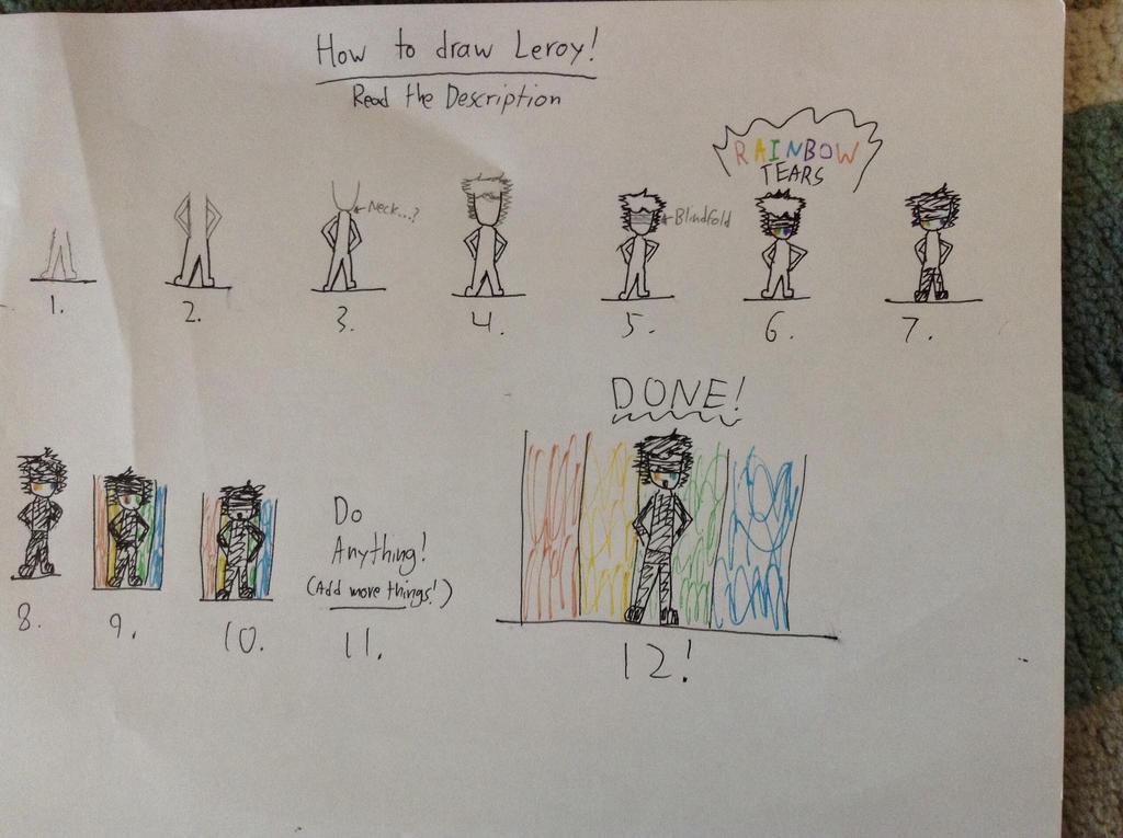 How to draw Leroy! by Gamerbroz47