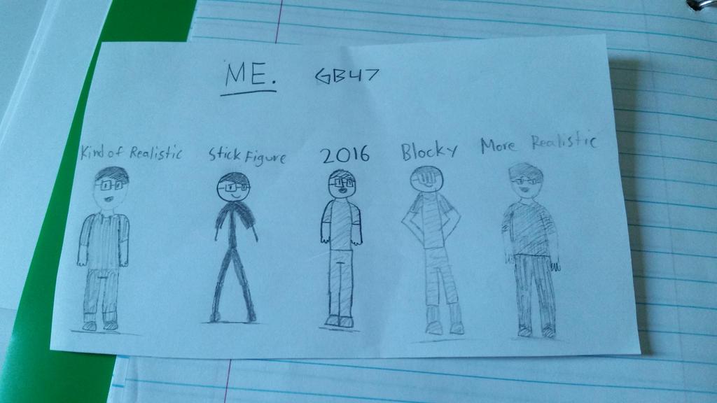 Drawing ME! by Gamerbroz47