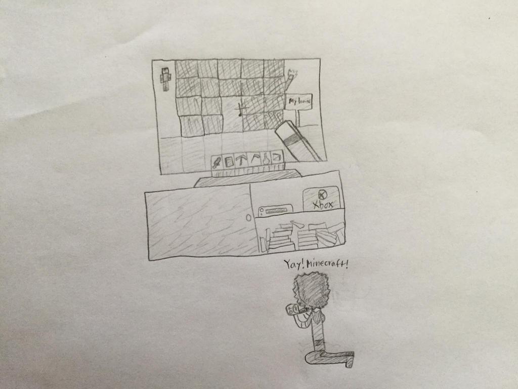 Leroy plays Minecraft! by Gamerbroz47