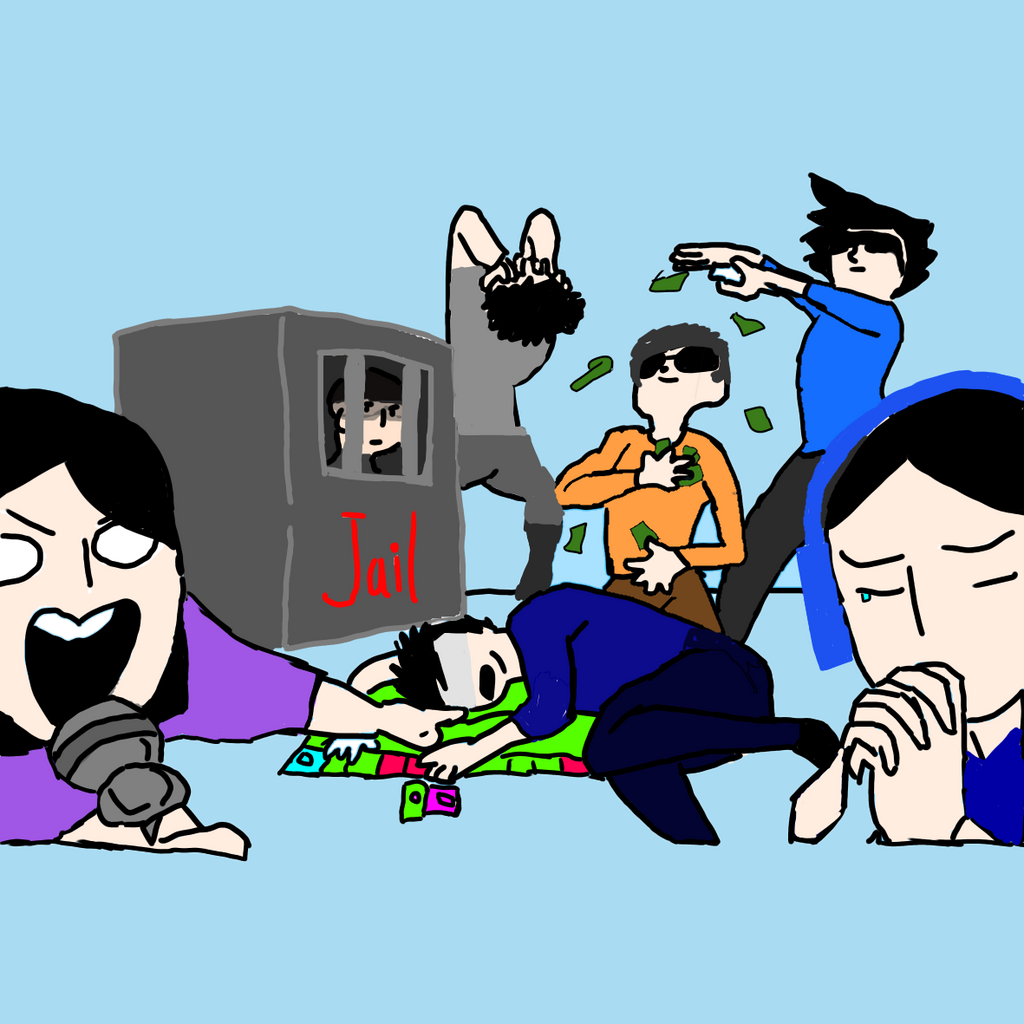 (DrawYourSquad) Monopoly by Gamerbroz47