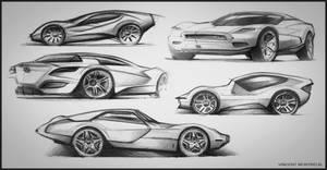Sketchs - Car 03 by Vincent-Montreuil