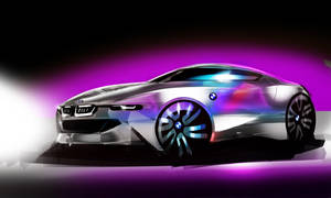 BMW - Sketch by Vincent-Montreuil