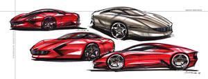 Ferrari - sketch chartpak
