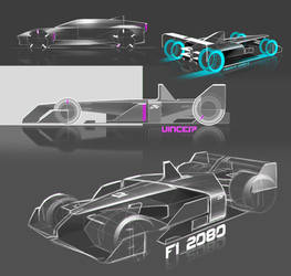 Future F1 ideations by Vincent-Montreuil