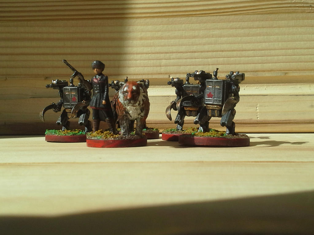 Rusviet - Scythe Board Game Minis by RighteousRaven ...