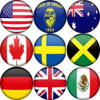 9 Flag Orbs