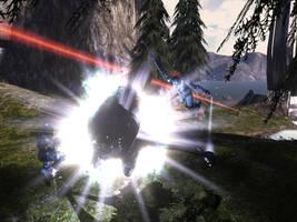 Laser Splatter