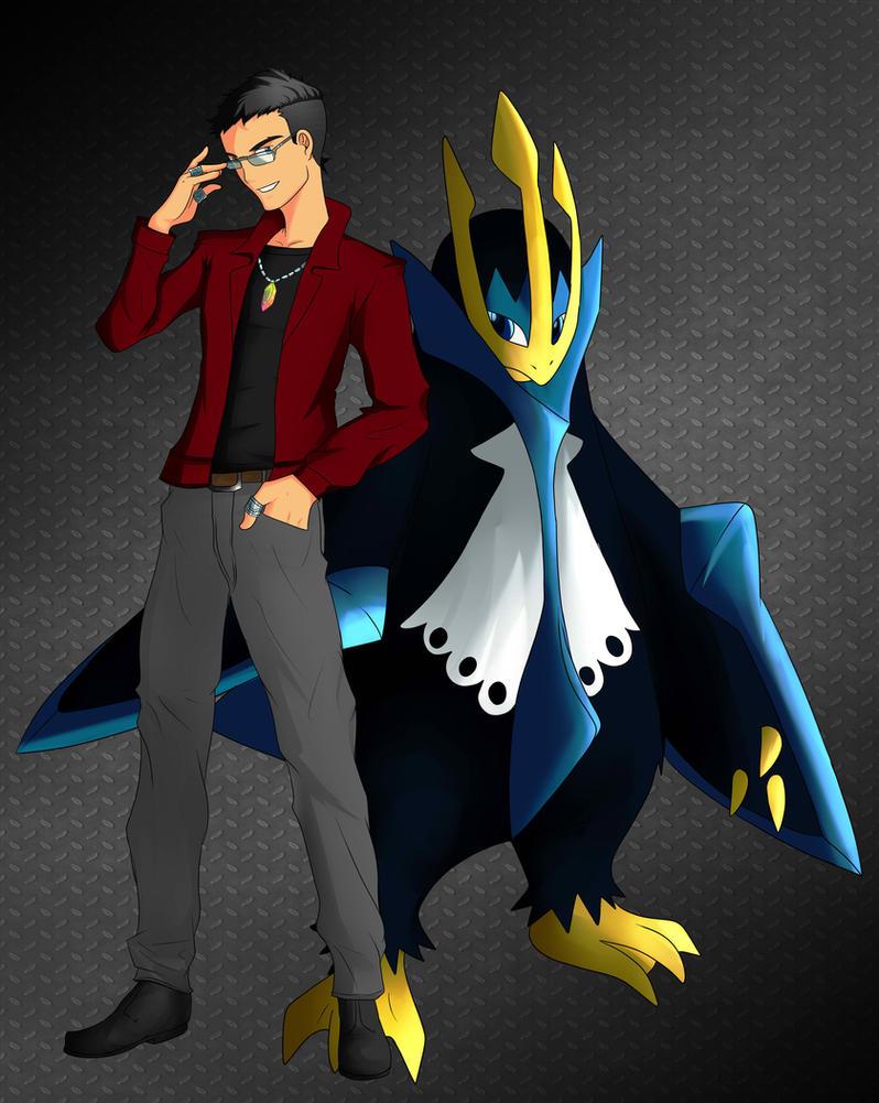 Pokemon steel gym leader by blacksun30 on deviantart for Gimnasio 7 pokemon esmeralda