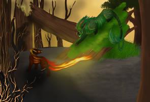 Encounter - illustration by KTLasair