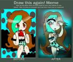 meme antes y despues