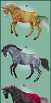 Adoptables! [PRICES LOWERED, FLAT SALE] by relibelli