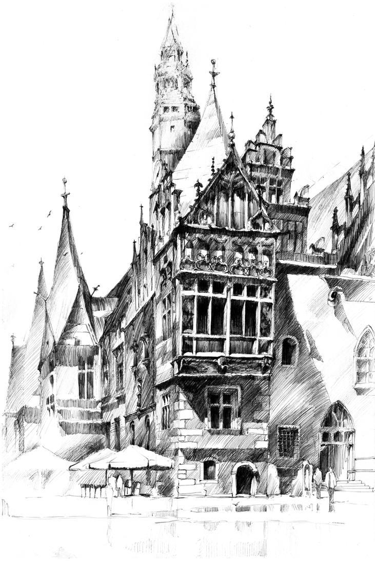 Wroclaw City Hall by Zawij