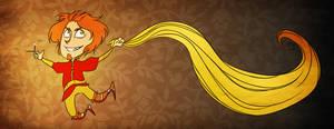 Loki with Sif hair