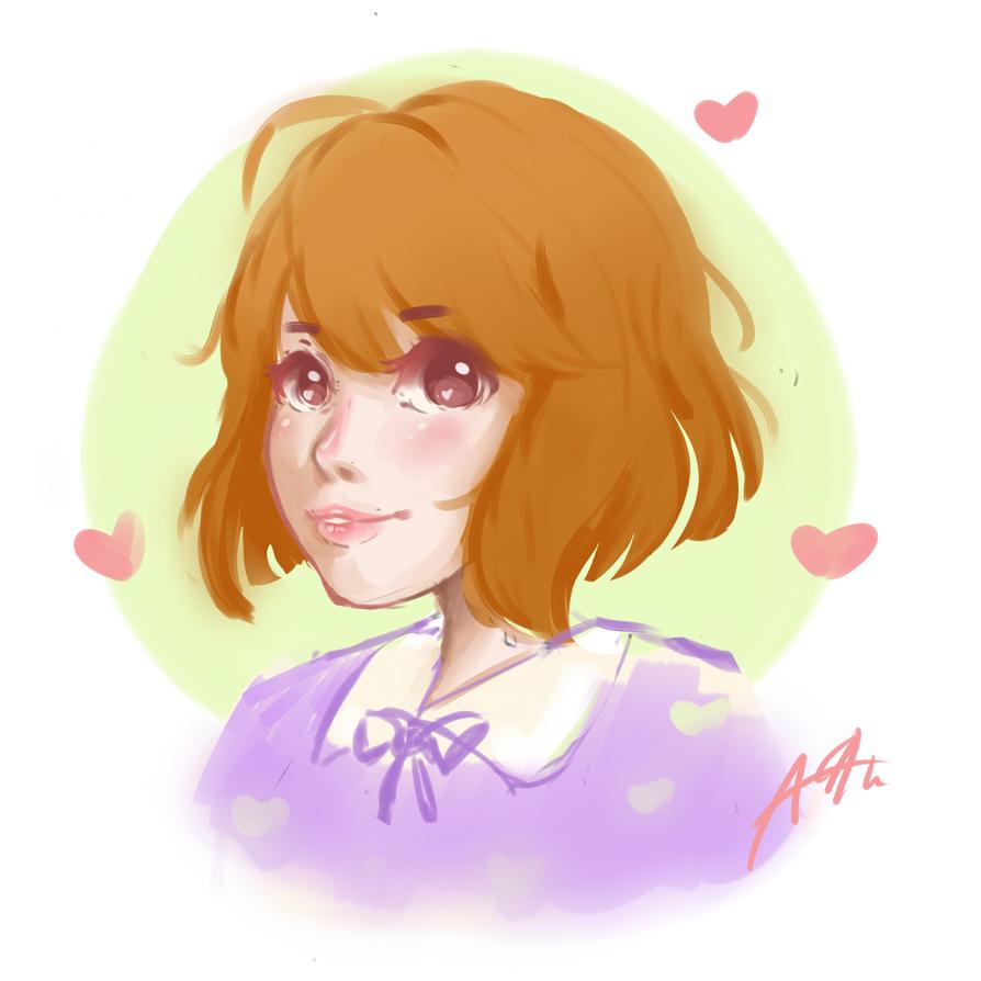 Cutie portrait by wishfulthinker014