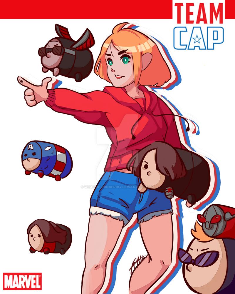 Tsum Cap! by wishfulthinker014