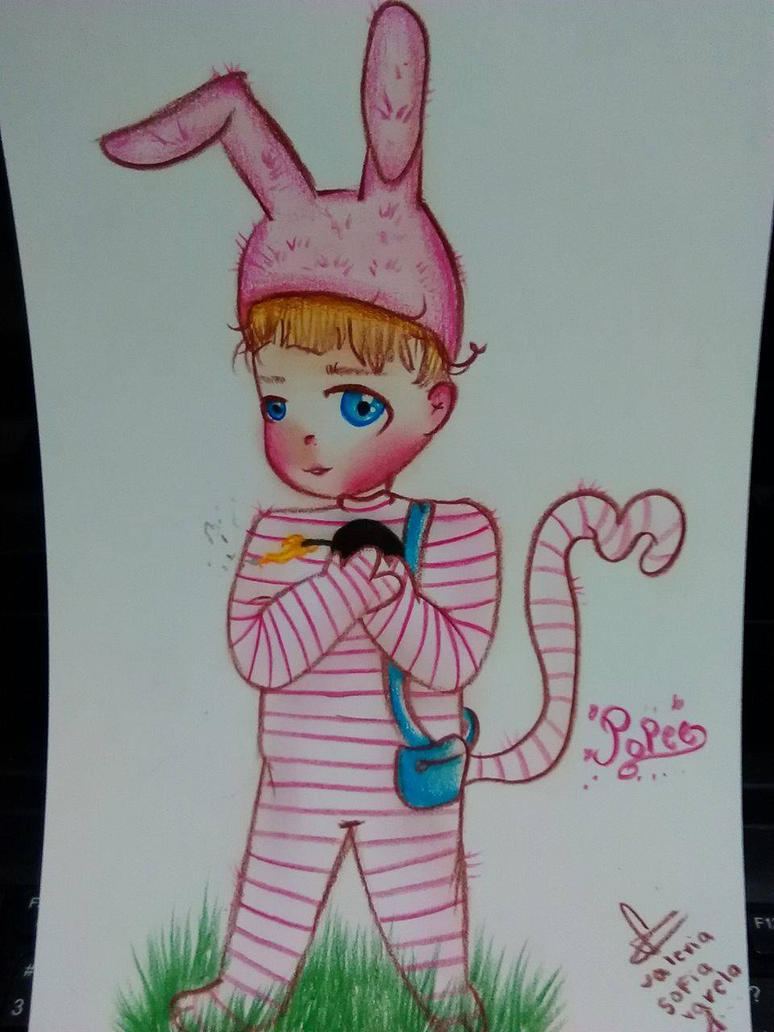popee the performer- kawaii by ValeChY
