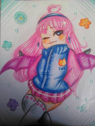 Pastel girl-challenge by ValeChY