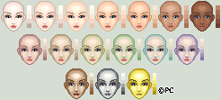 Skin Palette by isoldel