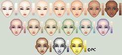 Skin Palette by isoldel