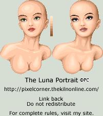 Luna Portrait by isoldel