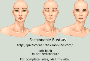 Fashionable Bust Portrait by isoldel