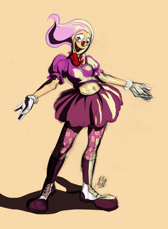 Deviant Clown by ClownDomain